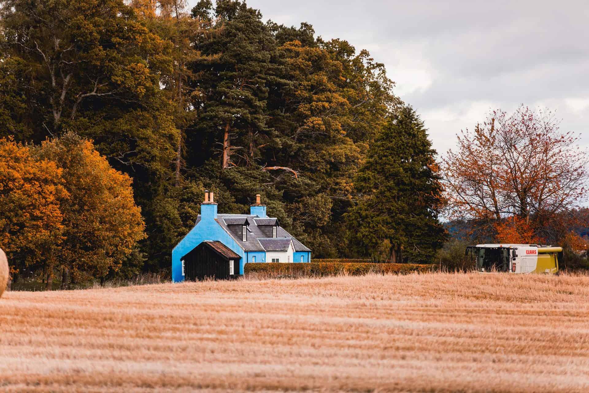 Lochanshelloch Cottage - Holiday Vacation rental at Cawdor Estate